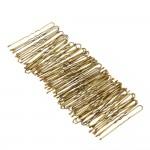 Обикновени фуркети цвят злато-50 бр. в пакет