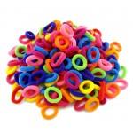 Детски цветни мини ластички-пакет от 100 бр