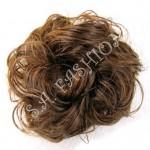 Небрежен кок от изкуствен косъм-02