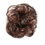 Небрежен кок от изкуствен косъм - 04