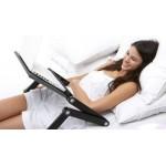 Алуминиева масичка за лаптоп за легло T8