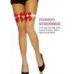 Мрежести чорапи за жартиери Fashion Stockings No:2058