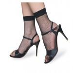 Къси черни мрежести чорапки BEILEISI No:2117