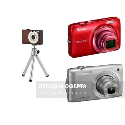 Универсален малък статив за всички видове дигитални фотоапарати