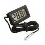 Компактен електронен термометър с кабелен датчик - сонда