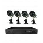 Системата за видеонаблюдение E-CH7004-4
