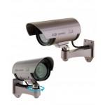 Фалшива камера за видеонаблюдение OR-11B с мигащ светодиод-лилава