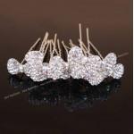 Красиви фуркети панделка с кристали-022