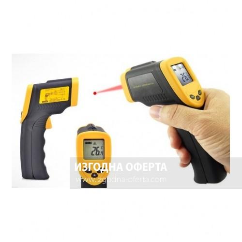 Инфрачервен термометър DT-8380.
