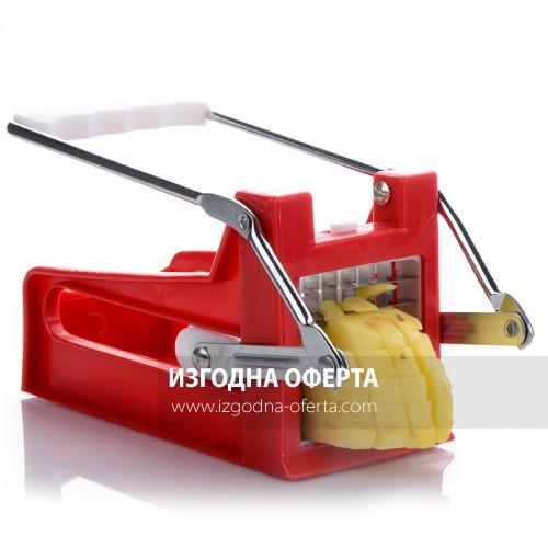 Уред за рязане на картофи за пържене