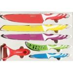 Комплект от 5 ножа и белачка Swiss Line тип Швейцарски нож