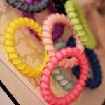 Гумен цветен ластик/гривна - 50 бр в пакет