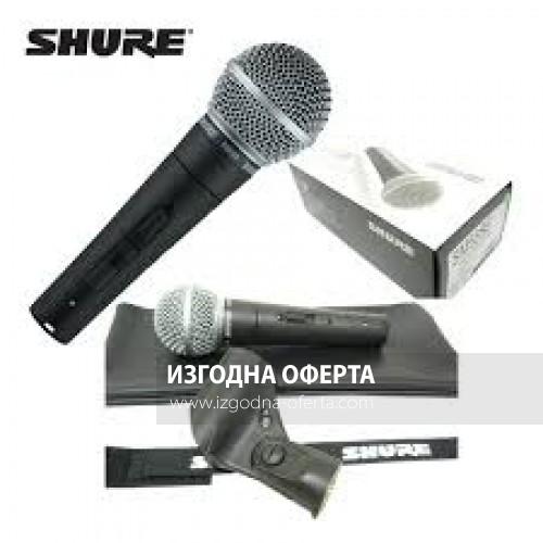 Жичен вокален микрофон Shure Sm 58