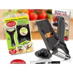 Компактно ренде и белачка 2 в 1 MIRACLE PEELER GREEN