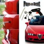 Лесно изправяне на вдлъбнатини по купето на автомобила с POPS-A-DENT