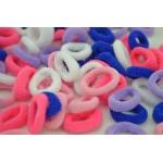 Детски цветни мини ластички, модел 2-пакет от 100 бр