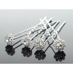 Луксозни фуркети за коса с кристали-модел 02