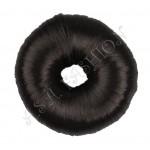 Кок от изкуствен косъм-черен цвят
