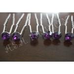 Луксозен фуркет с лилав камък-07