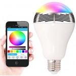 Цветна Bluetooth LED Крушка С Високоговорител