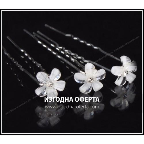 Луксозни фуркети за коса цвете-025