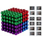 Магнитни цветни топчета - 5 мм