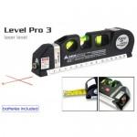 Лазерен нивелир -перфектният модел Laser Level Pro 3 с ролетка 250 см