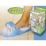 Чехли за баня за ексфолиране на загрубялата кожа на краката-Easy Feet