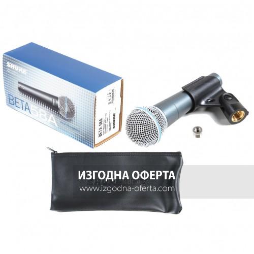 Вокален Микрофон SHURE BETA 58A  Професионален