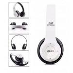 Безжични блутут слушалки OPEN P47, бели