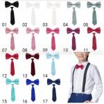 Детски комплект папионка и вратовръзка