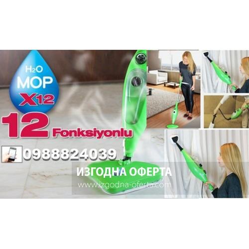 Парочистачка - Steam Mop X12 - 12 в 1 уреда
